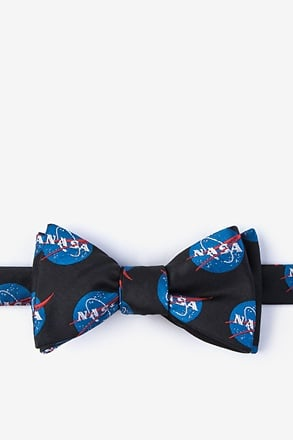 _Nasa Logo Self-Tie Bow Tie_