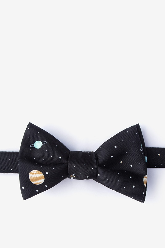 Outer Space Self-Tie Bow Tie Photo (0)
