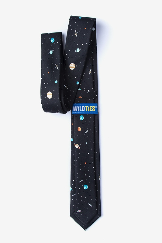 Outer Space Skinny Tie