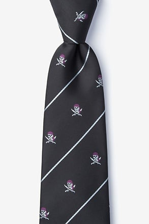 _Pirate Skull and Swords Tie_