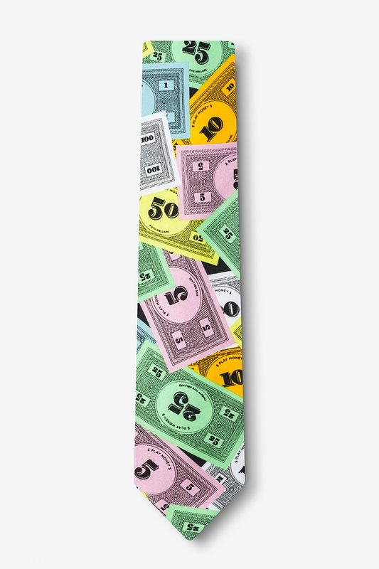 Play Money Tie For Boys