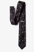 Skull & Crossbones Skinny Tie Photo (1)