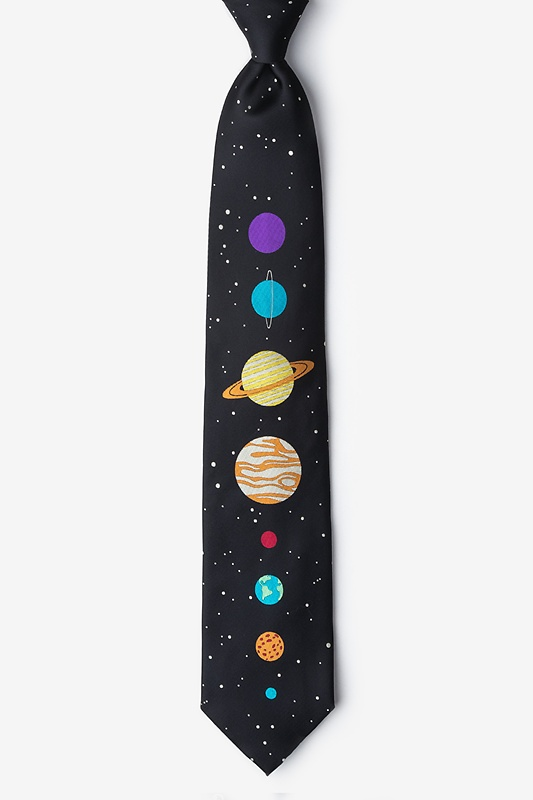 The 8 Planets Extra Long Tie Photo (0)