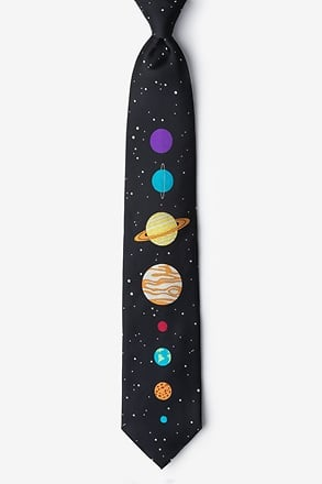 The 8 Planets Black Tie