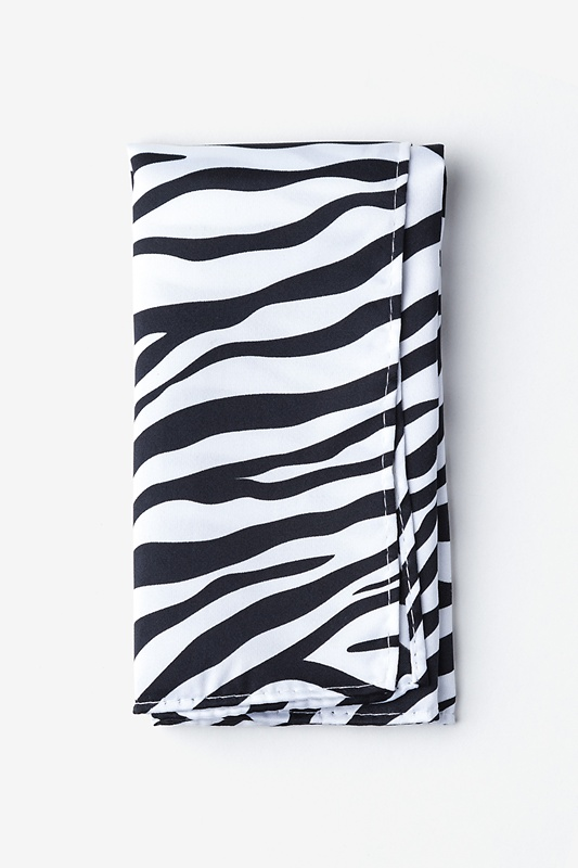 Zebra Animal Print Pocket Square Photo (0)