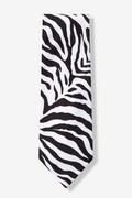 Zebra Animal Print Tie Photo (1)