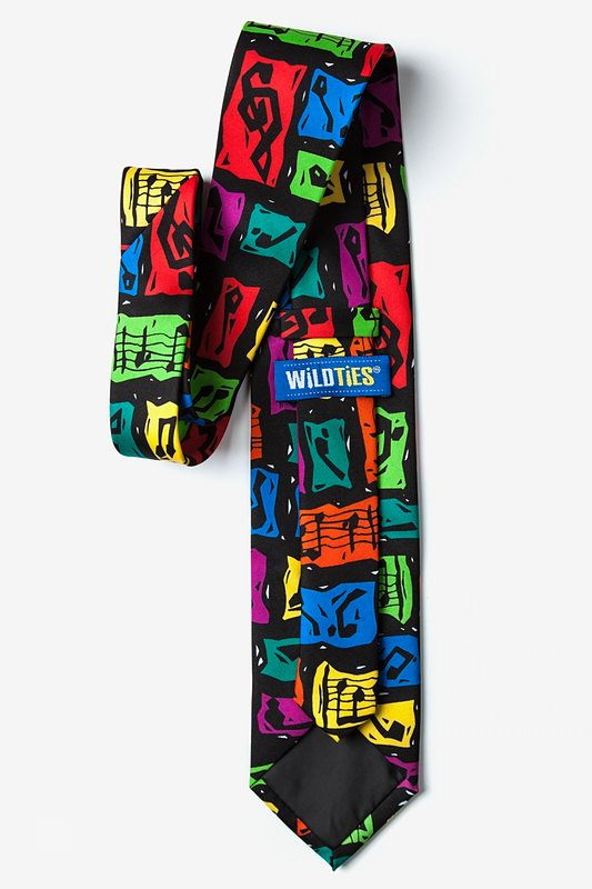 Music Composition Extra Long Tie