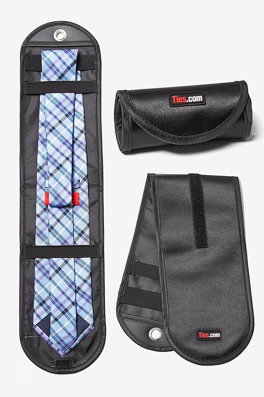 Necktie Travel Roll Tie Case