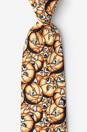 Play Hard Basketball Tie