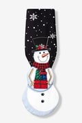 Snowman Shaped Tie