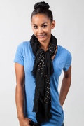 Taza Studded Scarf by Scarves.com