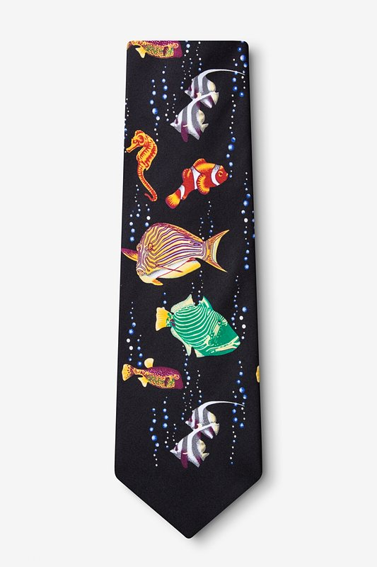 Tropical Fish Extra Long Tie Photo (1)