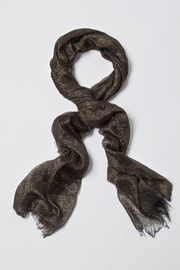 Black Polyester Twinkle Scarf