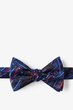 Avian Flu Butterfly Bow Tie