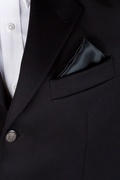 Black Pocket Square Photo (2)