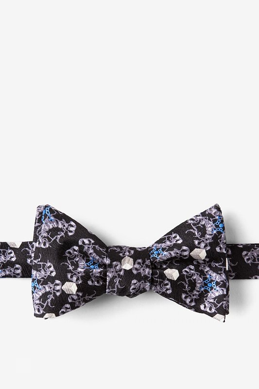 DIABETES Self-Tie Bow Tie