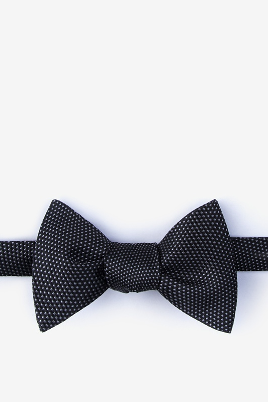 Goose Black Self-Tie Bow Tie Photo (0)