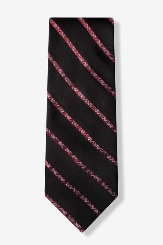 Holiday Stripe Tie