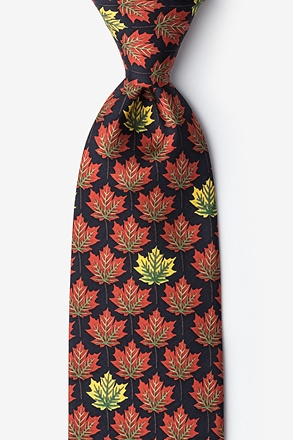 Leaves Of Fall Tie