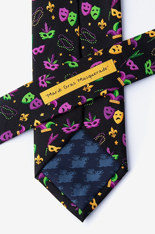 Mardi Gras Masquerade Tie Photo (2)