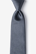 Black Silk Mill Tie
