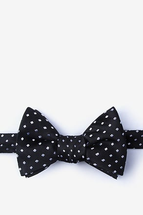 _Misool Black Self-Tie Bow Tie_