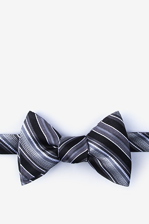 _Moy Black Self-Tie Bow Tie_