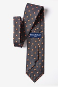Orange Polka Dot Tie