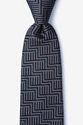 Black Silk Pearch Tie
