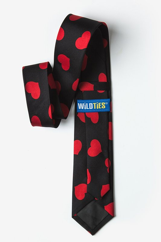 Red Hearts Tie For Boys