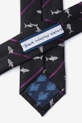 Shark Infested Waters Skinny Tie Photo (2)