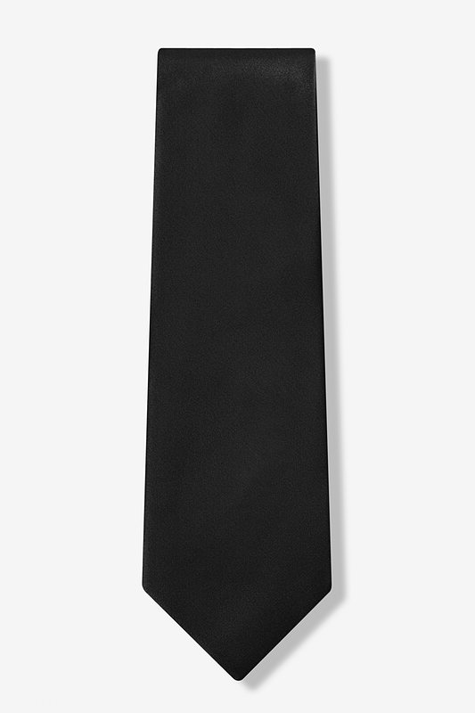 The Essential Black Extra Long Tie