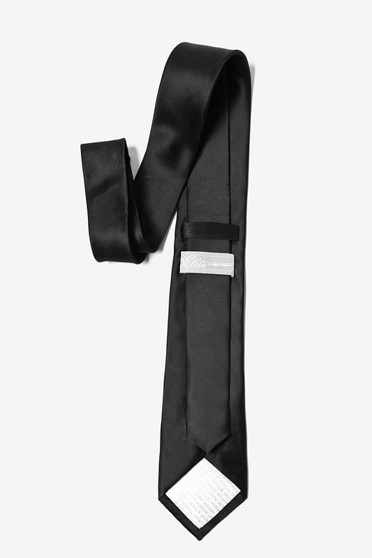 The Essential Black Skinny Tie