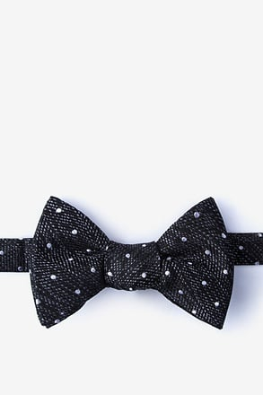 _Tully Black Self-Tie Bow Tie_