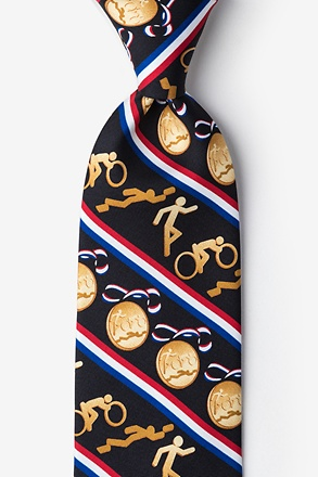 _USA Triathlon Tie_