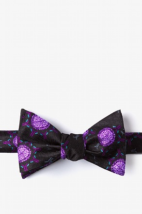 _Vaccine Black Self-Tie Bow Tie_