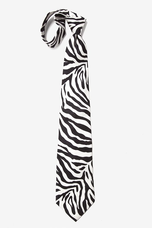 Zebra Print Tie Photo (3)