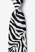 Zebra Print Tie Photo (0)