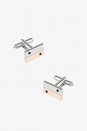 Minimalist Rectangle Cufflinks