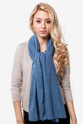 Heathered Solid Knit Scarf by Scarves.com