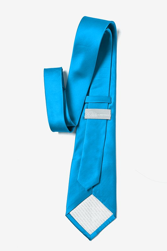 Blue Aster Extra Long Tie Photo (2)