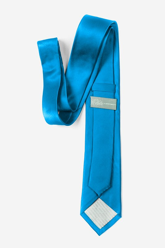 Blue Aster Tie For Boys Photo (2)