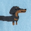 Dachshund | Weiner Dog Blue Women's Sock