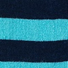 Blue Carded Cotton Stanton Stripe Sock