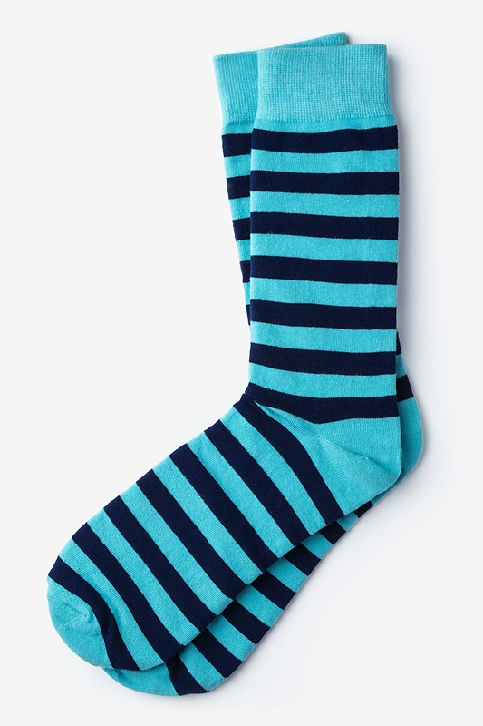 Stanton Stripe Blue Sock Photo (0)