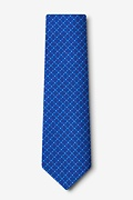 Ashland Blue Extra Long Tie Photo (1)