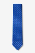 Ashland Blue Skinny Tie Photo (1)