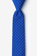 Ashland Blue Skinny Tie Photo (0)