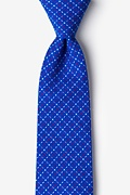 Blue Cotton Ashland Tie