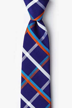 Bellingham Blue Extra Long Tie